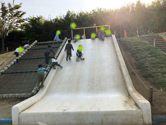 二子玉川公園 滑り台