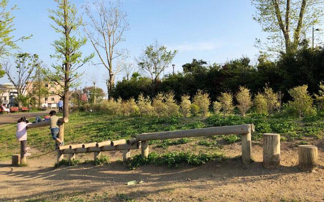 二子玉川公園 アスレチック