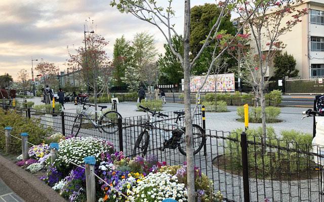 二子玉川公園 自転車