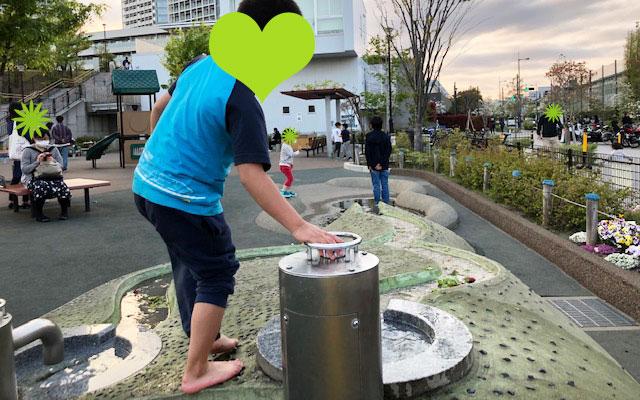 二子玉川公園 水遊び