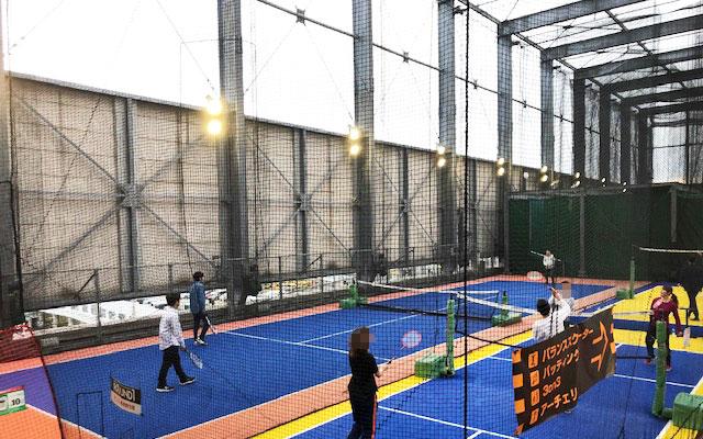 スポッチャ川崎大師店 テニス