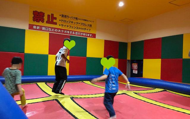 スポッチャ川崎大師店 トランポリン