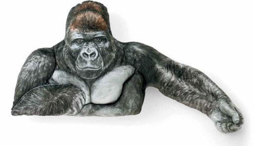 東山動植物園のイケメンゴリラ「シャバーニ」の腕枕クッションが最高!