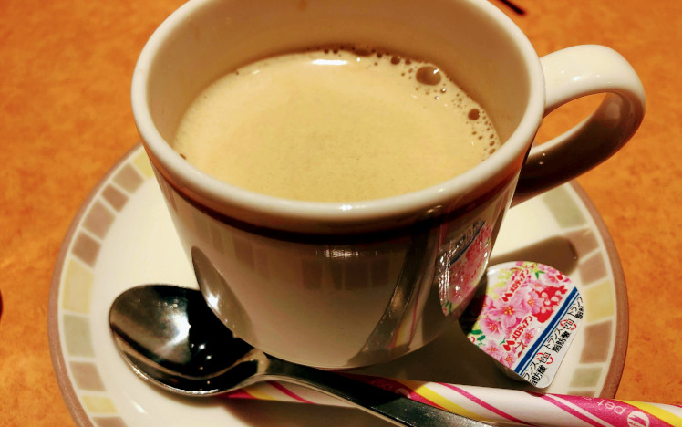 サイゼリヤドリンクバーのコーヒー