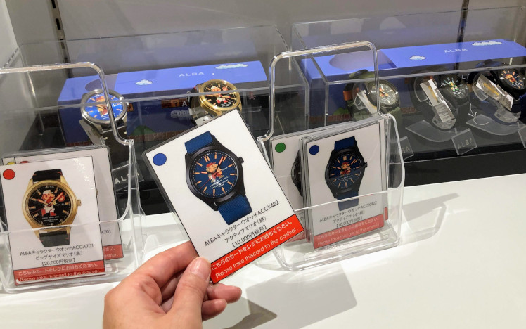 スーパーマリオ 腕時計