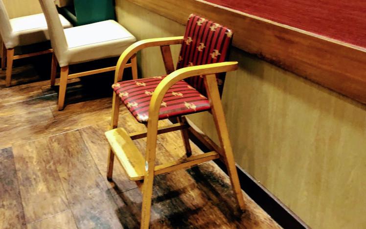 バーミヤンの子供用椅子